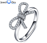 New 2015 Luxurious Party Accessories 925-Sterling-Silver White Cubic Zirconia Rings For Women