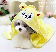 FUN OF PETS® Cute Animals Style  Good Absorption Towel  for Pet Dogs and Cats (Assorted Colours)