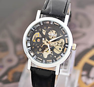 Men's Watches Are Hollowed Out Through The Back Belt Automatic Mechanical Watches