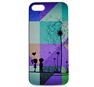 Dandelion Pattern PC Phone Case For iPhone 5/5S