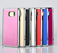For Samsung Galaxy Note Plating Case Back Cover Case Solid Color TPU Samsung Note 5 / Note 4 / Note 3