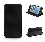 mallette en cuir PU pour iPhone6 plus - noir