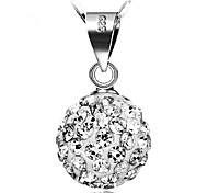 WH Woman Diamond Ball Necklace