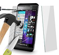 angibabe 0.4mm 2.5d 9h protector de pantalla de cristal templado para blackberry z10 4.2 pulgadas