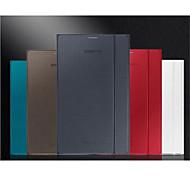 caja elegante de cuero del soporte magnético ultrafino para samsung galaxy tab s 8,4 t700 color clasificado