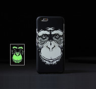 Fashion Ultra-thin Animal 2 Style Pattern Luminous Fluorescence Phone Back Cover Hard Case for iPhone 5/5S
