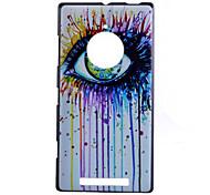großen Augen mustern Hartschalenetui für Nokia Lumia 830