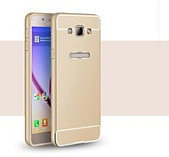 High Quality Protective Metal Bumper Frame with PC Back Cover for Samsung A8 (Assorted Colors)