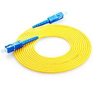 Shengwei® FSC-101 SC-SC Simplex Single-Mode Fiber Patch Cord 3M