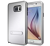 High Quality 3 in 1 Hybrid TPU+PC with Stand Back Cover for Samsung Note5 (Assorted Colors)