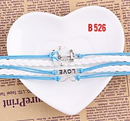 Ladies Fashion Bracelet Bangle Charm Handmade Woven Jewelry