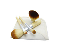 4Pcs Makeup Brushes Set Kabuki Powder Eyeshadow Cosmetic Brushes