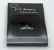 DIY Silver Charm Accessory- Red Lacquer