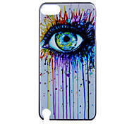 Eye  Pattern Hard Case for iTouch 5