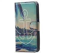 Anchor Leather Wallet Flip Stand Cover Case For  Motorola MOTO G3 G 3nd Gen XT1552