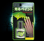 Fluorescent Luminous Glow In The Dark Nail Polish Nail Varnish Paint Halloween Tinta Fosforescente Pintura