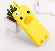 For iPhone 5 Case Shockproof Case Back Cover Case 3D Cartoon Soft Silicone iPhone SE/5s/5