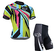 Others Unisex Short Sleeve Summer Cycling Suits 3/4 TightsWaterproof / Breathable / Insulated / Quick Dry / Rain-Proof