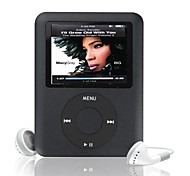 "mp3 4g / 8g / 16g 1.8 ""LCD-Media-Video-Spiel-Film Radio fm 3. Generation MP3-Player"