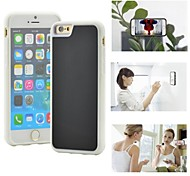 Myfon Lo  TPU+PC+Nano Suction Material  Anti-Gravity Case for iPhone 6(White)