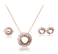 The New Fashion Jewelry Three Jewelry Set