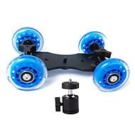 dslr mesa cámara carro patinador deslizador estabilizador camión rueda profesional para el vídeo 5D2 eos + pequeña ptz generales