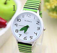Kids's Watch South Korean Fashion Zebra Stripes Student Table Cool Watches Unique Watches