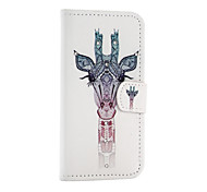 Giraffe  Pattern With Diamond Phone Case For iPhone 5/5S