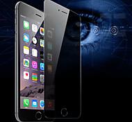 hd espelho anti-ver o filme 45 graus de proteção de filme de aço privacidade zero para iphone 6s / 6