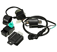 Dirt Pit Bike ATV Ignition Coil CDI Voltage Regulator Rectifier Ralay Kit