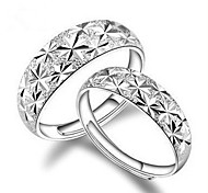 Starry Opening Adjustable Couple Rings 2pcs Promis rings for couples