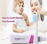 Sonic  Electric Toothbrush for Adult&Child with Two Head(Powered by 1 AAA Battery)
