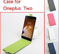 Flip Leather Magnetic Protective Case For OnePlus Two(Assorted Colors)