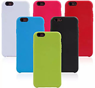 Original TPU Back Cover Case for iPhone 6(Assorted Colors)
