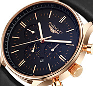 2015 Watches Men Luxury Top Brand Guanqin Fashion Men'S Quartz Watch Sport Casual Wristwatch Relogio Masculino