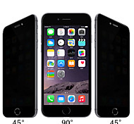hd espelho anti-ver proteção filme de filme de aço scratch impermeável privacidade para iphone 6s / 6