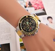montre britannique alliage suisse de montres hommes tendance décontractée de montre en acier