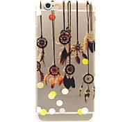 belletjes patroon TPU opluchting Cover Case voor iPhone 6 / iphone 6s