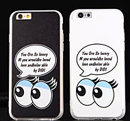 New TPU Silk Pattern Big Eye Cases for iPhone6/iPhone 6s(Assorted Colors)