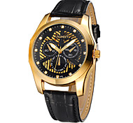 Men's Watches Langmai LAGMEEY New High-End Fashion Belt Automatic Hollow Mechanical 100 Meters Waterproof Prusi Watch Cool Watch Unique Watch