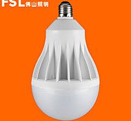 FSL® E27 25W 6500K Cool White Light LED Globe Bulbs 220v