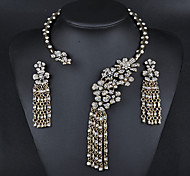 Women Party/Casual Alloy Necklace/Earrings Sets