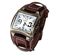 Unisex Watches Genuine Leather Band Watch Waterproof Vintage Wrist Men Watch Quartz Watches(Assorted Colors) Cool Watch Unique Watch