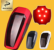 LED Smart Sensor Bike Cycling Rear Braking Tail Warning Safety outdoor Light
