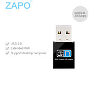 Zapo W77 300m enrutador adaptador transmisor red mini usb wifi tarjeta de red inalámbrica