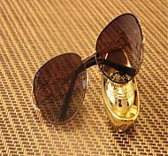Sunglasses Women's Elegant / Lightweight / Polarized Square Gold Sunglasses Full-Rim