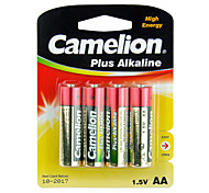 Camelion Plus Alkaline Primary Batteries Size AA (4pcs)