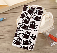 Back Cover Other 3D Cartoon TPU SoftHuawei Huawei P8 / Huawei P8 Lite / Huawei Mate 7