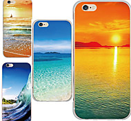 MAYCARI® The Beauty of Nature Transparent Soft TPU Back Case for iPhone 6/iphone 6S(Assorted Color)