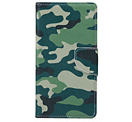 CamouflageTotem PU Leather for GALAXY S5/S6/S6Edge/S6Edge plus